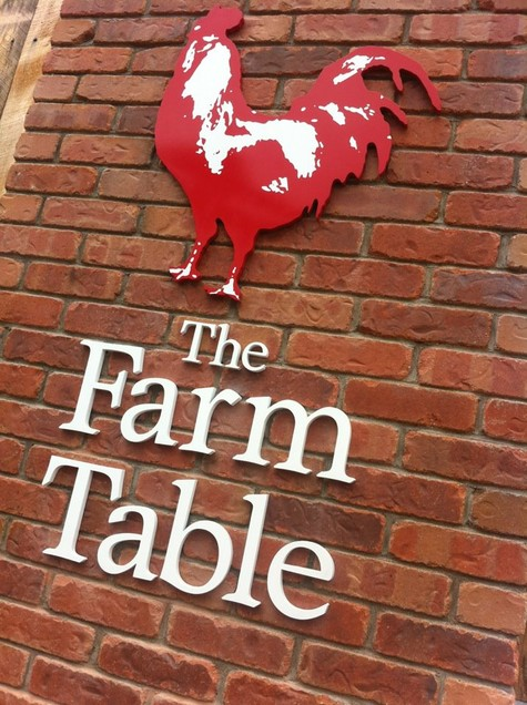 The Farm Table Hale Custom Signs