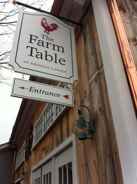 Kringles Farm Table Hale Custom Signs - Kringle farm table