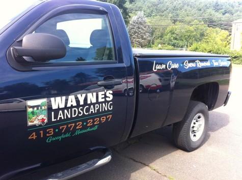 Wayne's Landscaping - Wayne's Landscaping - Hale Custom Signs